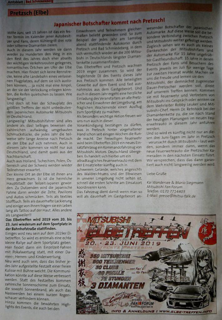 Zeitungsartikel ET-2019